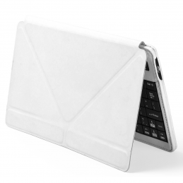 Tyrell - iPad® holder with keyboard and bluetooth connection AP781475-01, alb