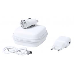 Luzzer - set incarcator telefon AP721270-01, alb
