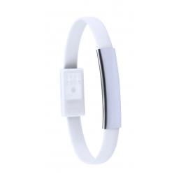 Beth - brățară încărcător USB AP781138-01, alb