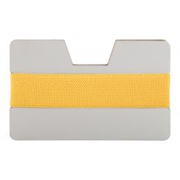 StriCard - suport cărți de vizită AP718126-02, alb/GALBEN