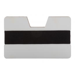 StriCard - suport cărți de vizită AP718126-10, alb/negru