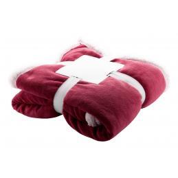 Sammia - pătură coral fleece AP861006-08, bordo