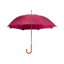 Santy - umbrelă cu mâner din lemn AP761788-08, bordo