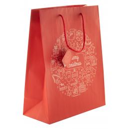 Tammela L - sacoșă mare pentru cadou AP808757, roșu