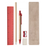 Gabon - set instrumente de scris AP781759-05, roșu