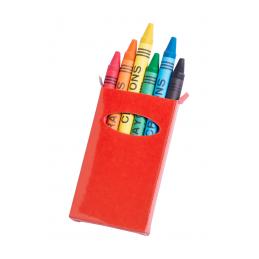 Tune - set creionae cerate AP731350-05, roșu