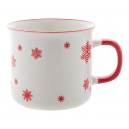 Nakkala - cană vintage de Crăciun AP803413-05, roșu