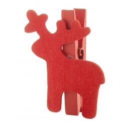 Hantala - clips Crăciun AP845165-05, roșu