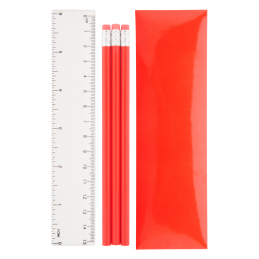 Laptan - set creioane AP741704-05, roșu