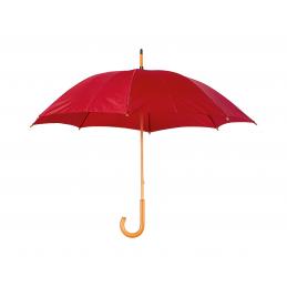 Santy - umbrelă cu mâner din lemn AP761788-05, roșu