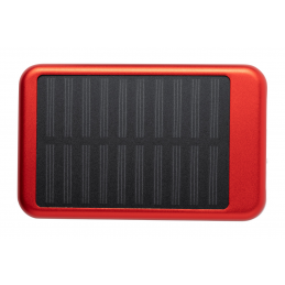 Rudder - power bank 4000 solar AP721407-05, roșu