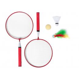 Dylam - set badminton AP781280-05, roșu