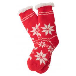 Camiz - șosete de Crăciun AP781988-05, roșu