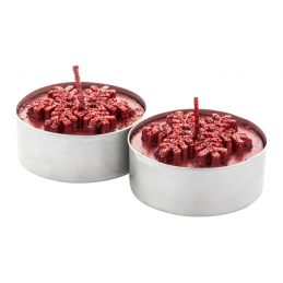 Duo - Set lumânări AP731614-05, roșu
