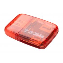 Ares - cititor card AP791190-05, roșu