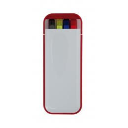 Kalem - set pix cu evidenţiator AP791374-05, roșu