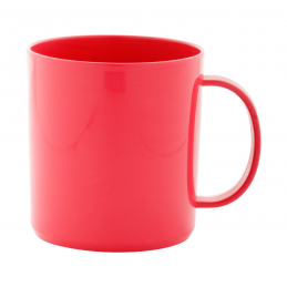 Witar - cană cu silicon AP741249-05, roșu