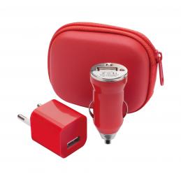 Canox - set încărcător USB AP741174-05, roșu