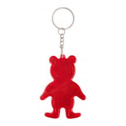 Safebear - breloc reflectorizant AP844007-05, roșu