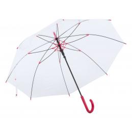 Fantux - Umbrela transparenta AP721056-05, roșu