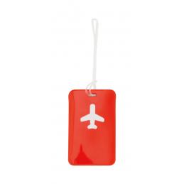 Raner - etichetă bagaje AP791975-05, roșu
