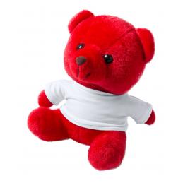 Alison - ursuleț din pluș AP781275-05, roșu
