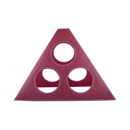 Conde - suport pentru sticle de vin AP761661-05, roșu