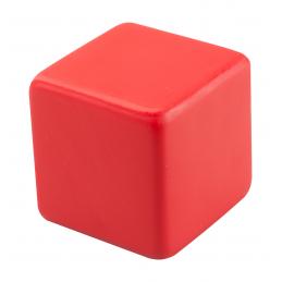 Kubo - minge antistress în formă de cub AP741189-05, roșu