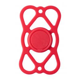 Sernel - suport card pe telefon AP721404-05, roșu