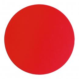 Exfera - mousepad rotund din silicon AP741510-05, roșu