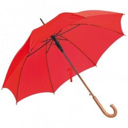 Umbrelă automată maner lemn...