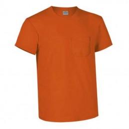 Tricou la baza gatului cu buzunar la piept 160 gmp orange