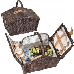 Coş picnic pentru 2 persoane - 6233701, Brown