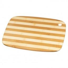 Tocator / capac din bambus 38x28x 1 cm - 155913, BEIGE