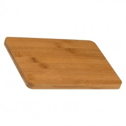 Tocator / capac din bambus 25x18x 1,5 cm - 097313, Beige