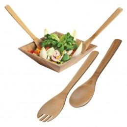 Set spatule bucatarie din bambus - 278001, Brown