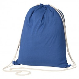 Rucsac bumbac colorat 140 gmp - 129804, BLUE