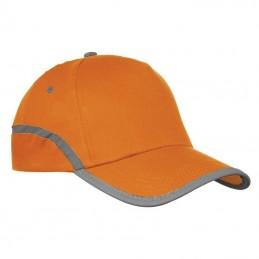 Sapca cu banda reflectorizanta - 804410, Orange