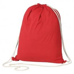Rucsac bumbac colorat 140 gmp - 129805, RED