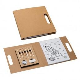 Set desen pentru copii - 049301, Brown