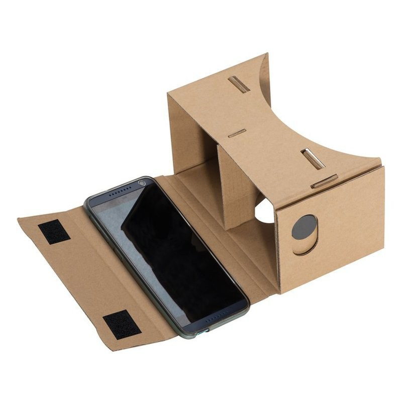 Ochelari VR / VR glasses from cardboard - 035601, Brown