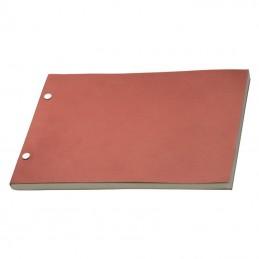 Carnetel 26x18 cm landscape - 344705, Red