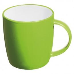 Cana ceramica 300 ml colorata interior alb - 870429, Applegreen