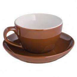 Ceasca 200 ml cu farfurie  - 344001, Brown