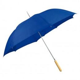 Umbrela cu maner lemn drept - 508604, Blue