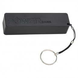 Powerbank 2200 mAh cu inel breloc Miami Beach - 351303, black
