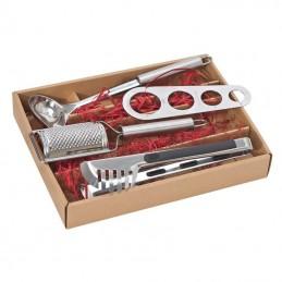 Set pentru spaghete in cutie carton - 140907, Grey
