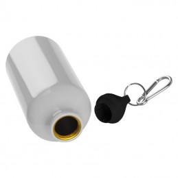 Budon metalic 500 ml cu carabina - 019506, White