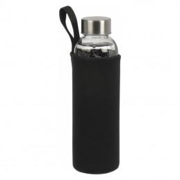 Bidon 500 ml in husa neopren - 084203, Black