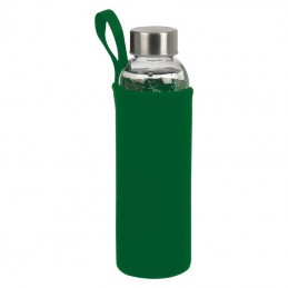 Bidon 500 ml in husa neopren - 084209, GREEN